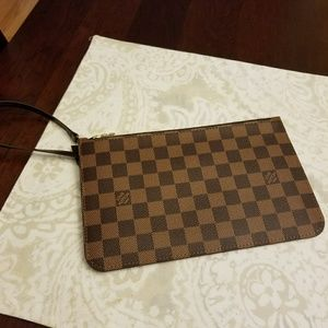Authentic Louis Vuitton MM Wristlet
